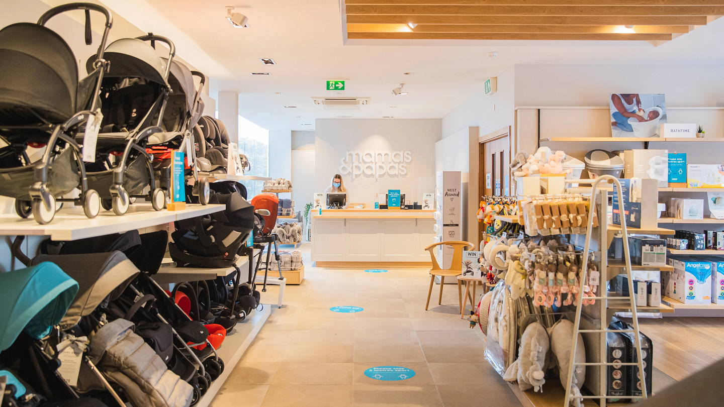 We've Arrived: our new Mamas & Papas concession at Next Home, Meadowhall