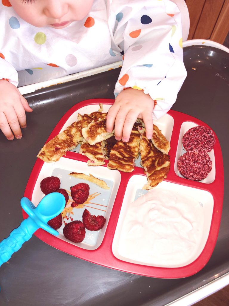 Hollie Evelyn's Pancakes for Weaning Babies