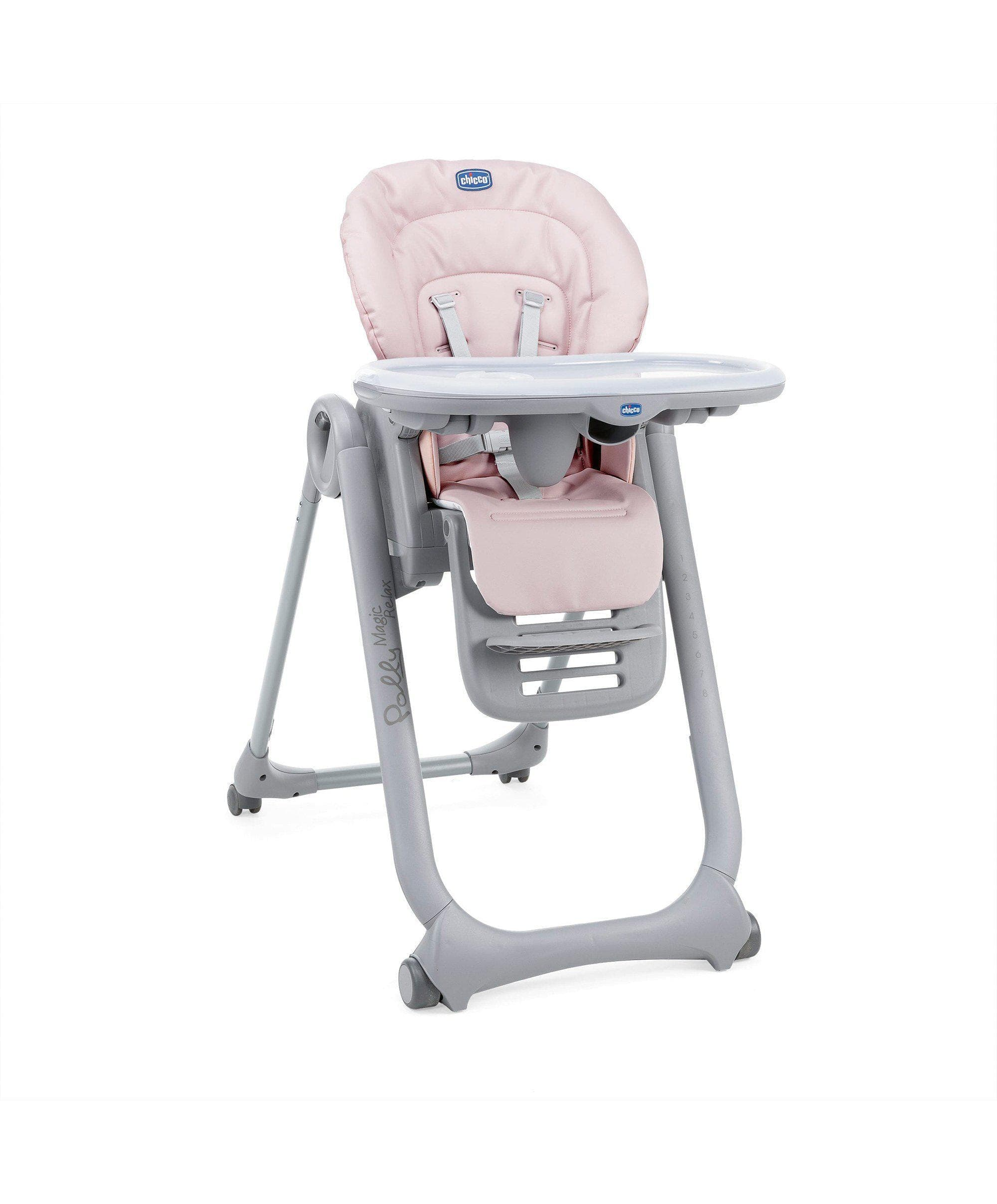 Chicco Polly Magic Highchair - Paradise Pink