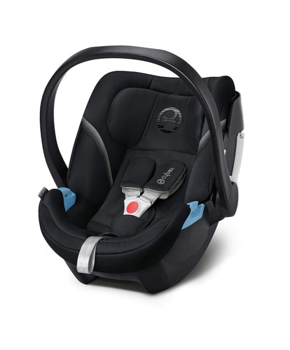 Cybex Car Seats Cybex Aton 5 Baby Car Seat - Lavastone Black