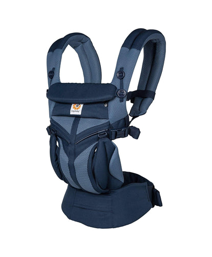 Ergobaby Baby Carriers Ergo Baby Omni 360 Carrier Mesh - Tones of Blue