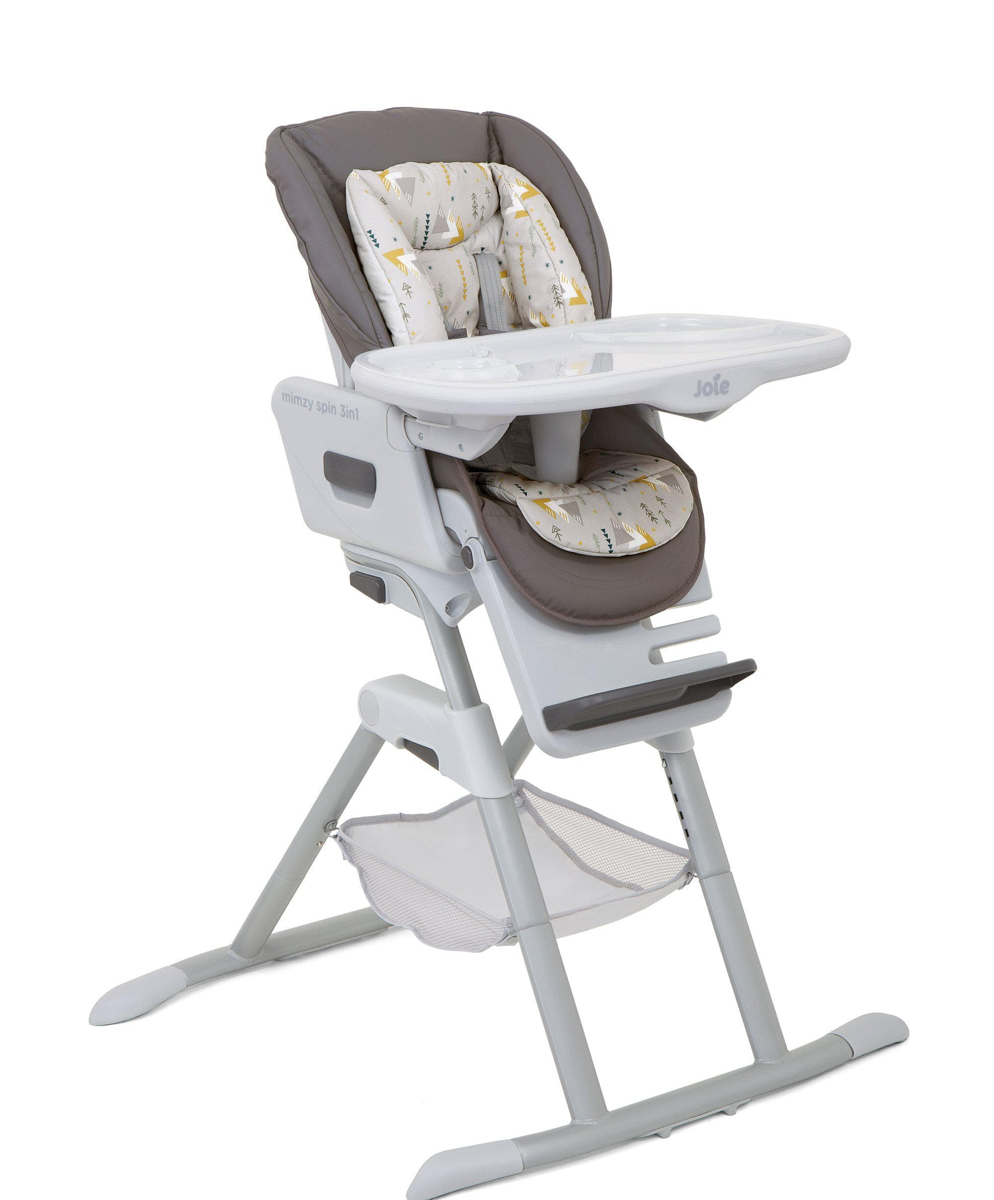 Joie Mimzy Spin 3 in 1 Highchair - Geometric Mountains