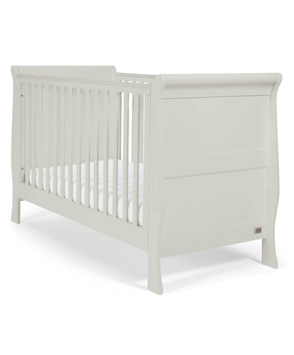 Mamas & Papas Cot Beds Mia Sleigh Convertible Cot to Toddler Bed - Cool Grey