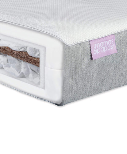 Mamas & Papas Cotbed Mattresses Luxury Twin Spring Cotbed Mattress