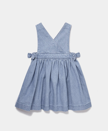 Mamas & Papas Dresses & Skirts Chambray Pinny Dress