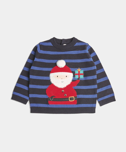 Mamas & Papas Jumpers & Knitwear Santa Christmas Jumper