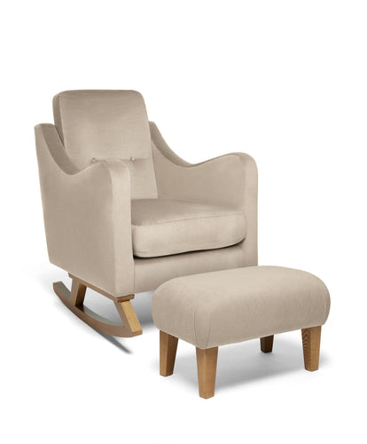 Mamas & Papas Nursing Chairs Bowdon Nursing Chair & Footstool - Sand