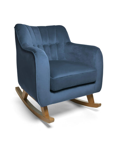 Mamas & Papas Nursing Chairs Hilston Nursing Chair - Navy Velvet
