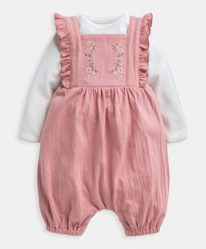 Mamas & Papas Outfits & Sets Top & Dungarees - 2 Piece Set