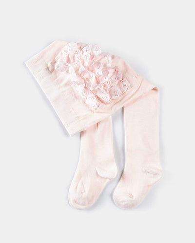 Mamas & Papas Socks & Tights Frill Bottom Tights