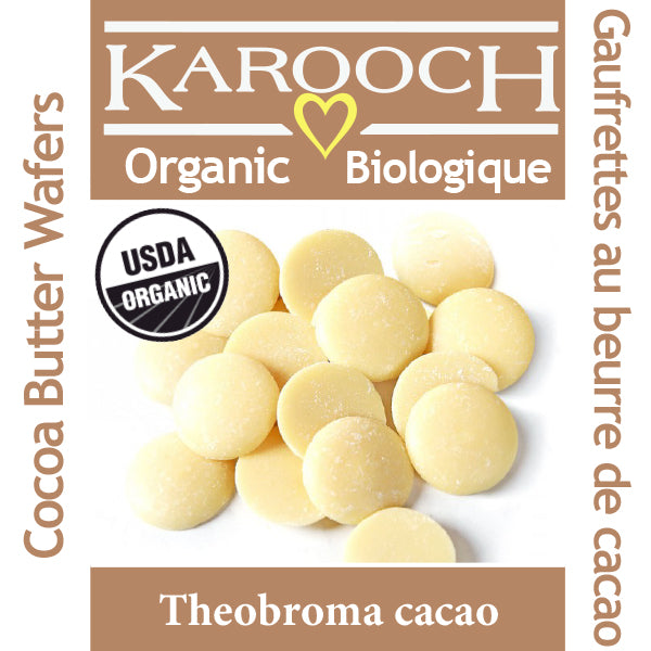 Coco Butter Wafers Natural Organic