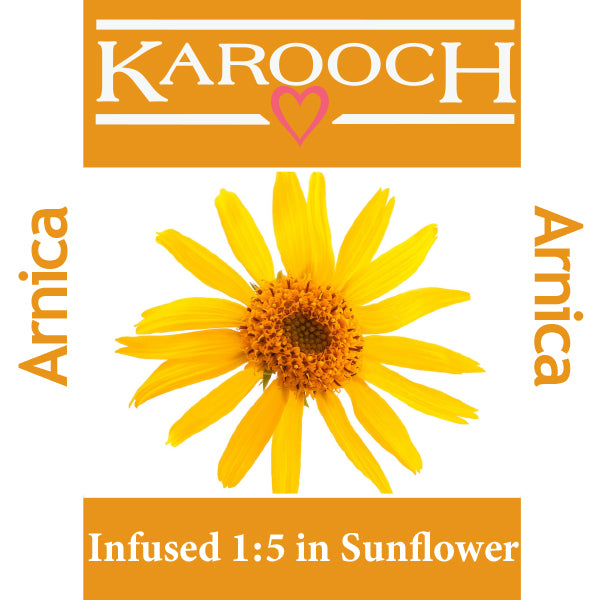 Arnica Infused 1:5 in Sunflower Seed Oil