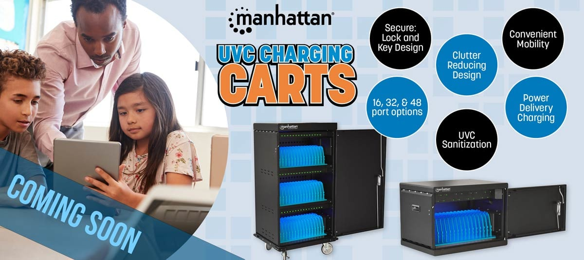 UVC Power Delivery Charging Cabinets