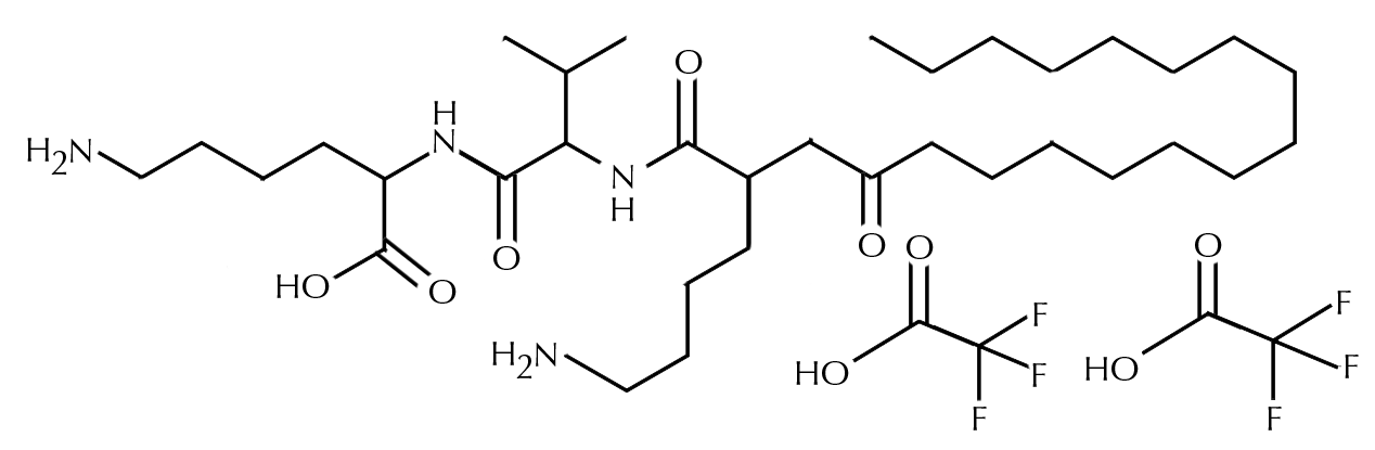Palmitoyl Tripeptide-5 chemical composition, part of Eblouir ingredients