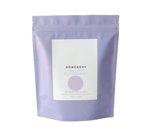 Homebody Amethyst + Alchemist Pearlescent CBD Bath Soak