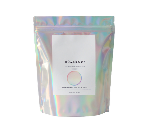 Homebody Full Spectrum of Possibilities Pearlescent CBD Bath Soak