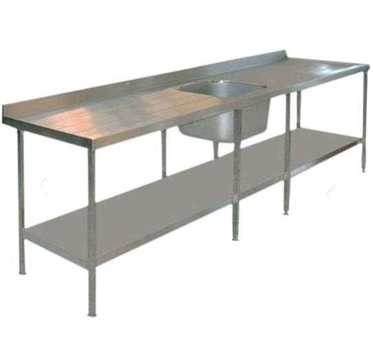Stainless Steel Sink Unit and Work Surface