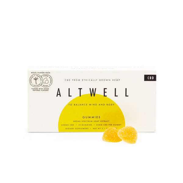 Altwell Balance Gummies (Mixed Flavor Pack) 250mg | 10 count