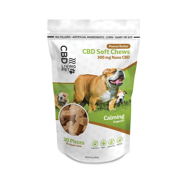 CBD Living 300mg Calming Dog Chews