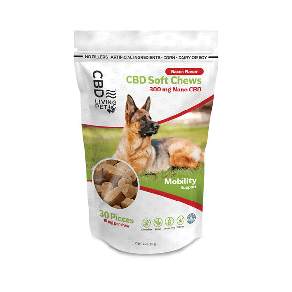 CBD Living 300mg Mobility Dog Chews