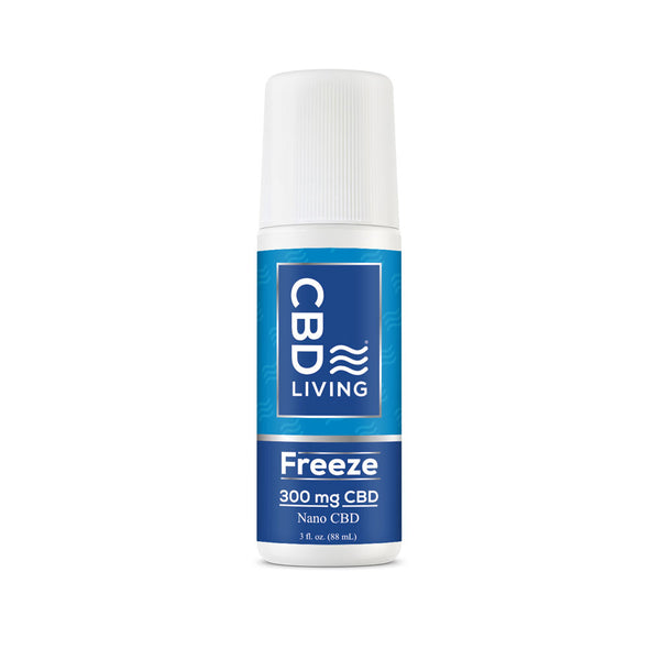 CBD Living 300mg Freeze Roll-On