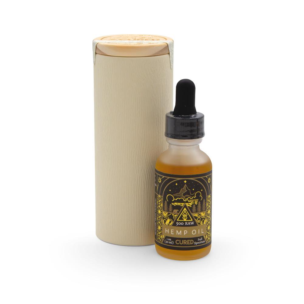 Cured Nutrition 500mg Raw Tincture