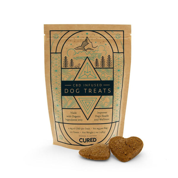 Cured Nutrition 80mg Dog Treats