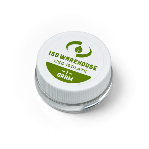 ISO Warehouse 99% CBD Isolate 1 Gram Jar
