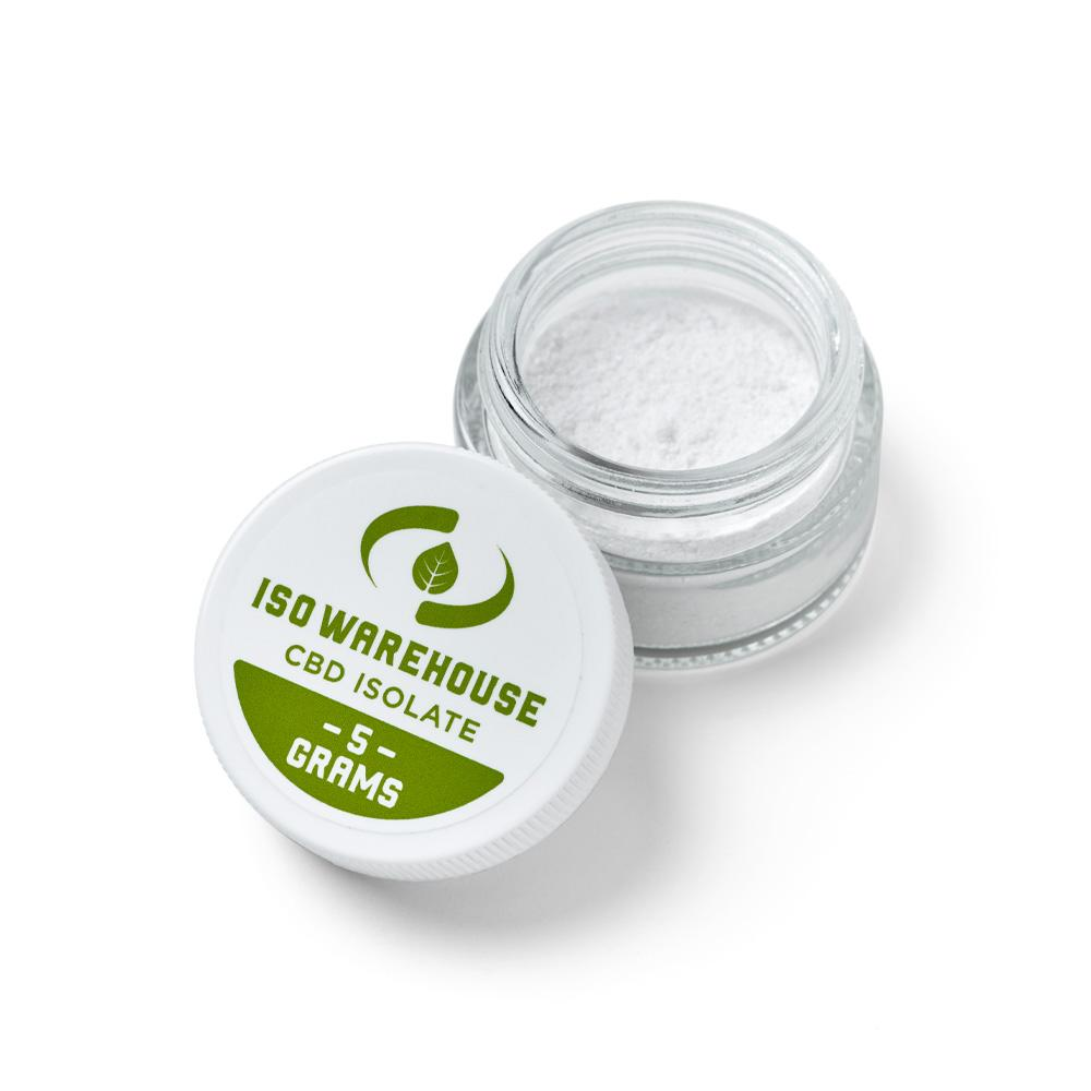 ISO Warehouse 99% CBD Isolate 5 Gram Jar