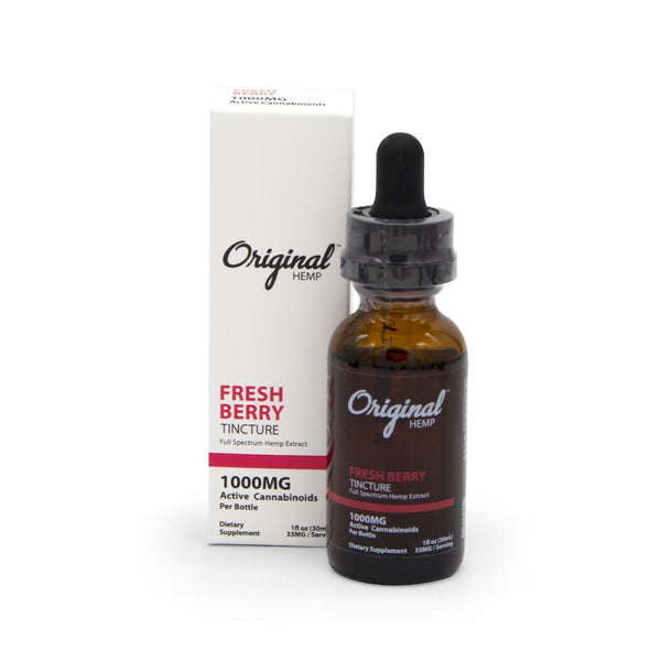 Original Hemp 1000mg Full Spectrum Tincture