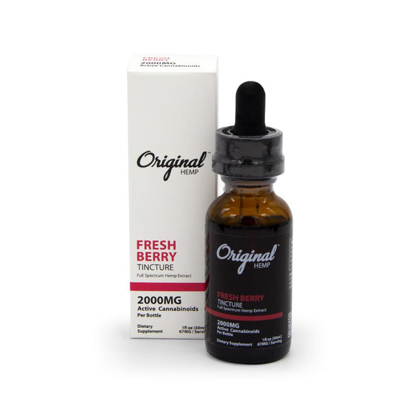 Original Hemp 2000mg Full Spectrum Tincture