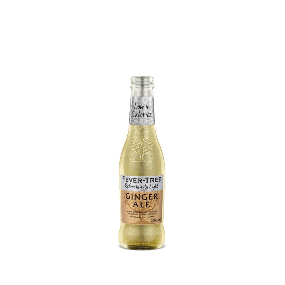 Foxhole Spirits Fever Tree Ginger Ale Refreshingly Light 200ml