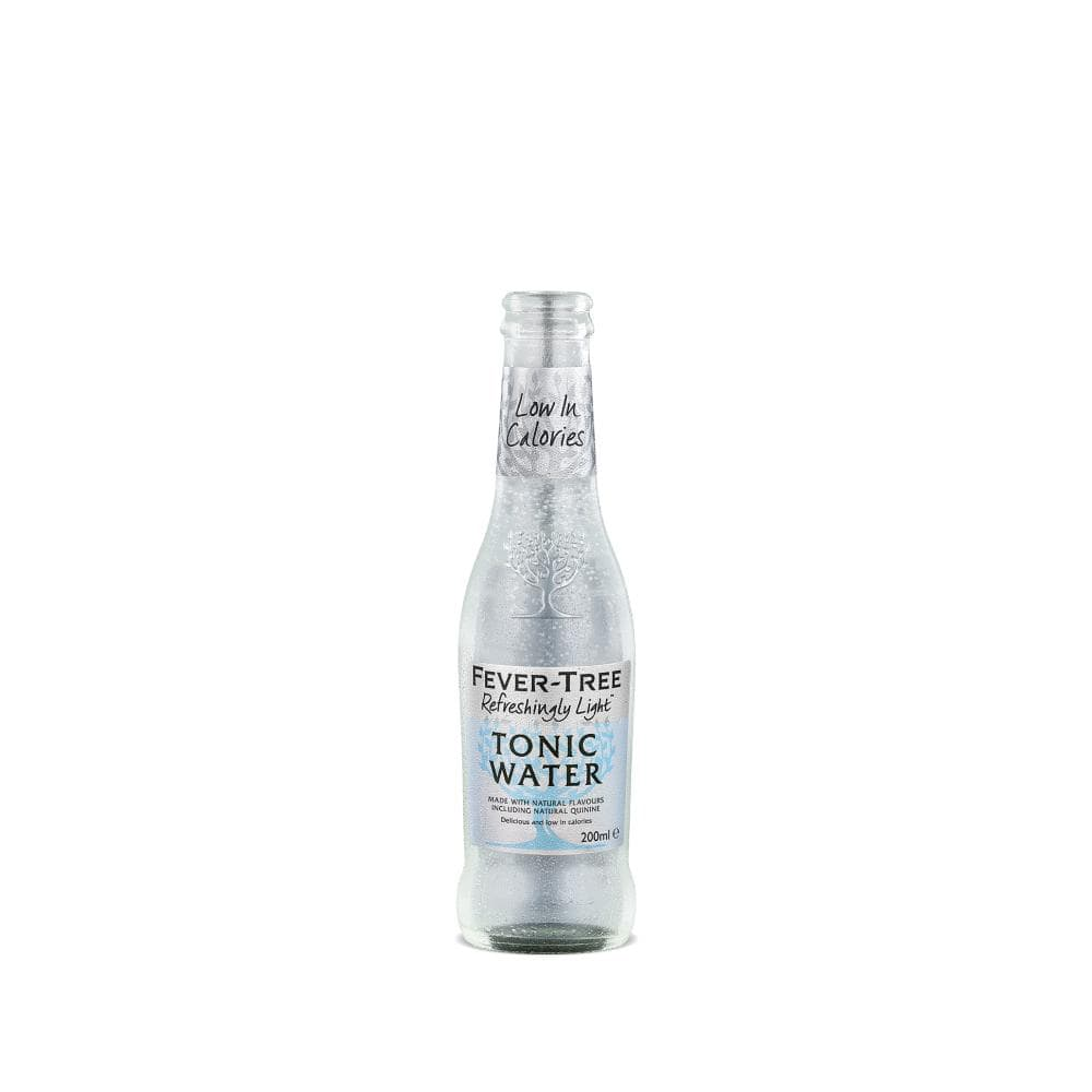 Foxhole Spirits Fever Tree Indian Tonic Water Refreshingly Light 200ml