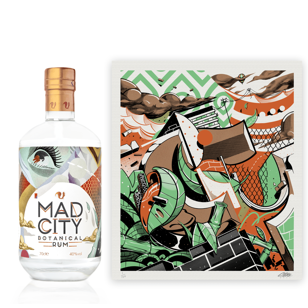 Foxhole Spirits Mad City The Artist's Cut Limited Edition Print Bundle