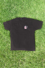 BLACK IC TV TEE