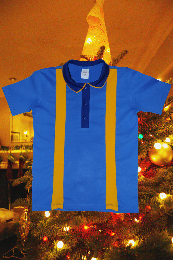 Blue and Yellow Polo
