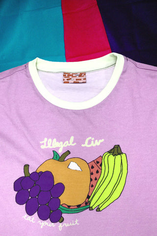 Eat Your Fruit Ringer Shirt