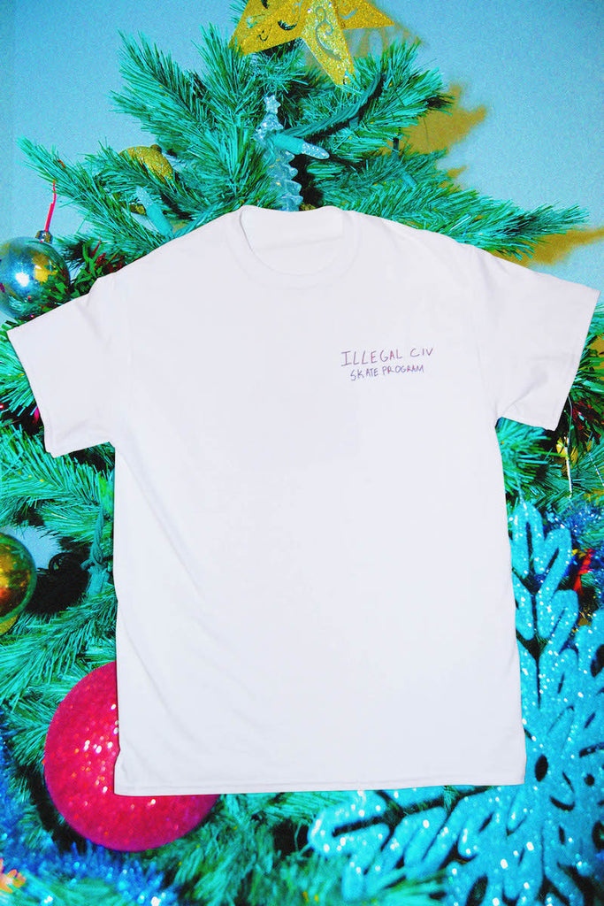 White Skate Program T Shirt