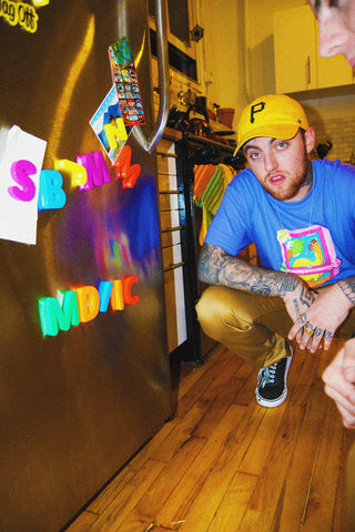 Purple Mac Miller Shirt