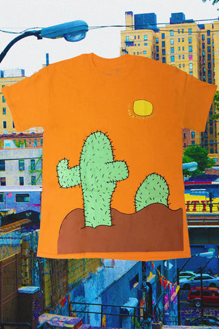 Orange Cactus Shirt