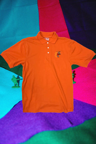 Corporate Orange Dino Polo