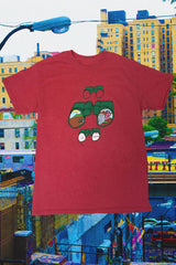 Heather Red Binocular Tee