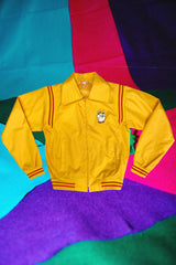 Yellow Bowling Jacket