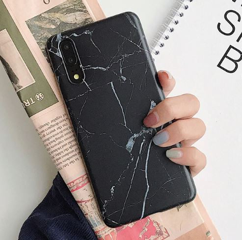 Marble Rubber Cover for Huawei P30 / P30 Pro