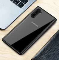 Rock Hybrid Protective Rubber Cover for Galaxy Note 10