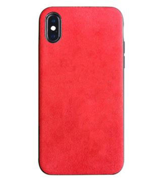 Suede Leather Cover for iPhone 12