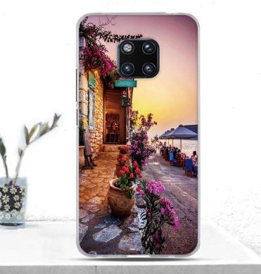 Sunset Rubber Cover for Huawei Mate 20 Pro