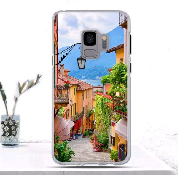 Village Rubber Cover For Galaxy S9 Plus