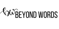 Beyond Words logo to empower women with inspirational tshirt designs