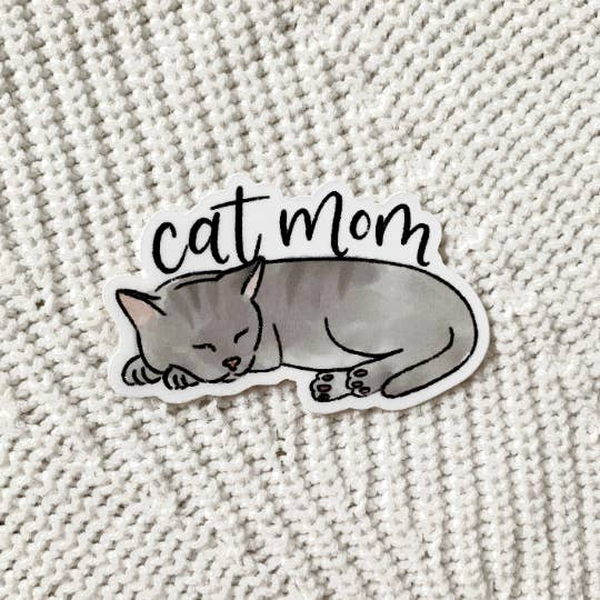 Cat Mom | Sticker
